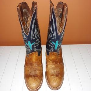 """Men's Double-H 12"""" Buckaroo Cowboy Workboots"""